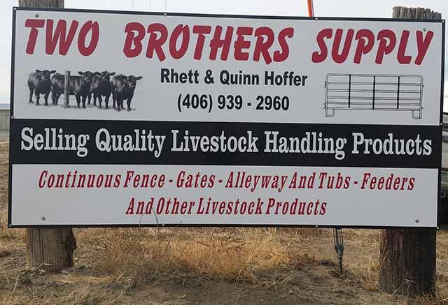 Two Brothers Supply - Glendive Livestock Exchange